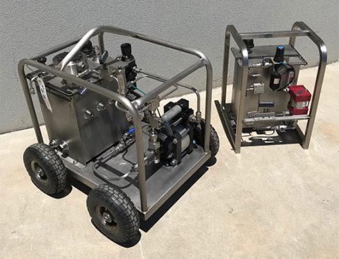 Pressure Test Unit
