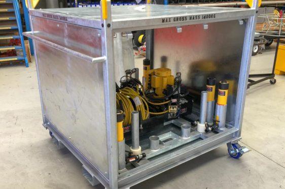 BHP Hydraulic Jacking System